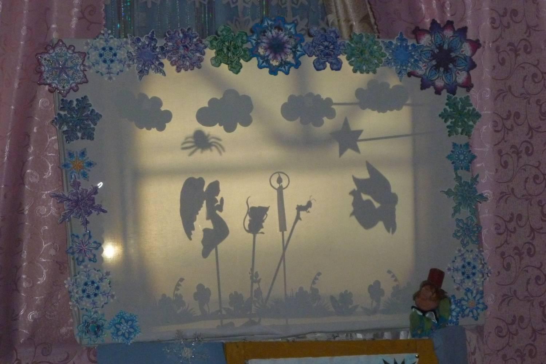 Теневой театр для детского сада
